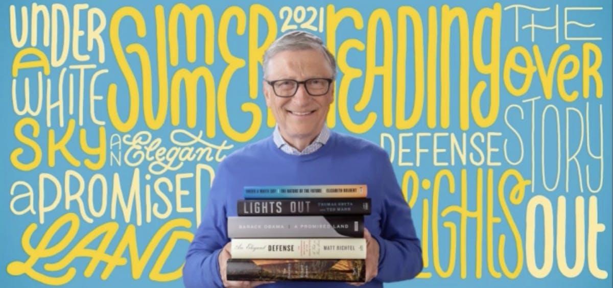 Immunsystem, Klimawandel, Obama: Bill Gates empfiehlt dir 5 Bücher für den Sommer