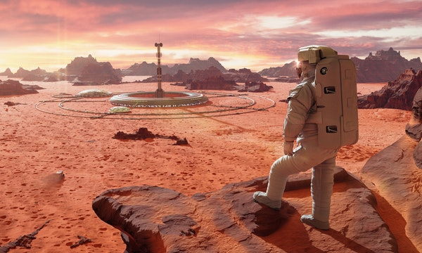 Teste dein Wissen: Was geht auf dem Mars?