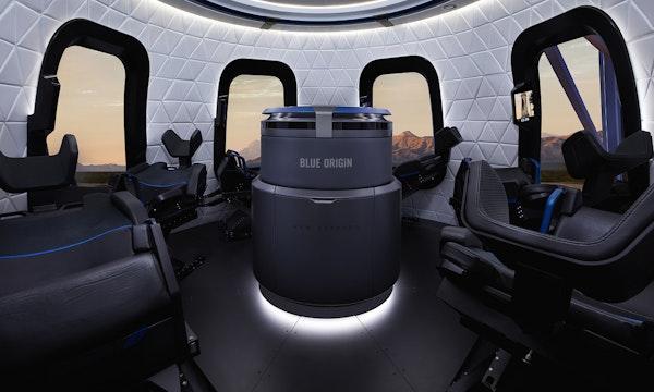 Unbekannter zahlt 28 Millionen Dollar für 10-Minuten-Weltraumflug mit Jeff Bezos