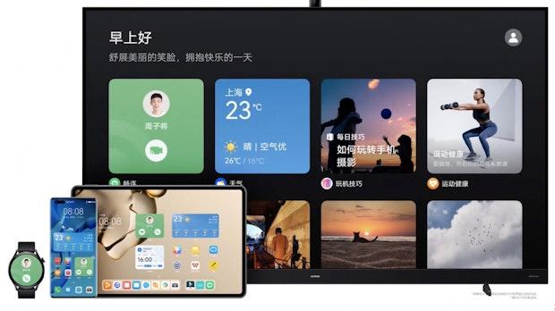 Harmony OS 2.0: Huaweis Android-Alternative will alle Geräte besser miteinander vernetzen
