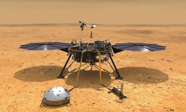 Marsstaub könnte die Insight-Mission schon deutlich früher beenden