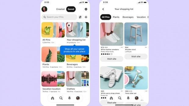 Shopping per Pinterest: Diese neuen Tools gibt es für Nutzer und Händler
